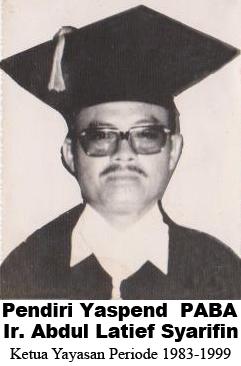 Pendiri Yayasan PABA