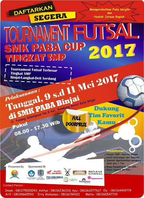 SMK PABA CUP 2017
