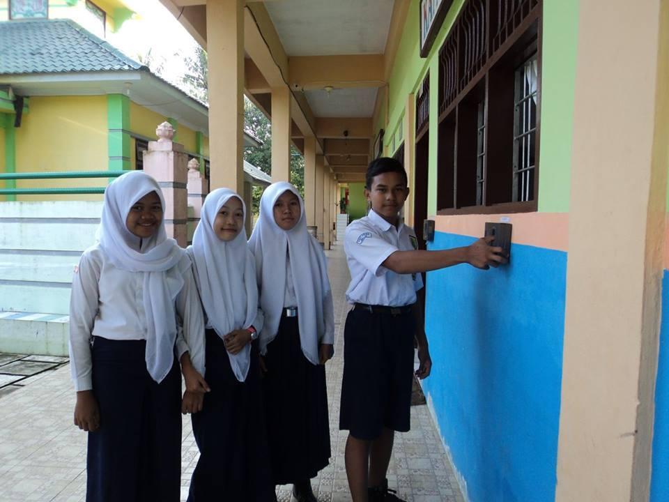 Salah satu kegiatan SMP PABA
