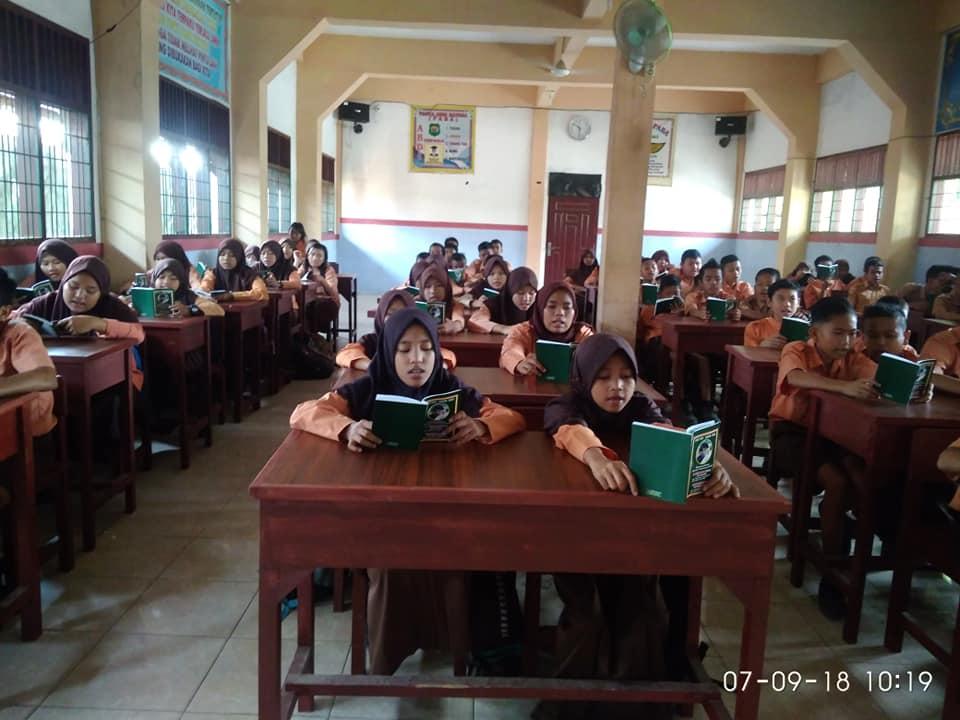 SMP PABA Binjai ngaji bersama