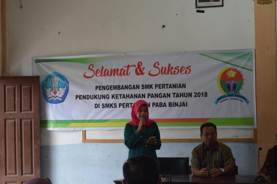 Workshop SMK Pertanian PABA Binjai
