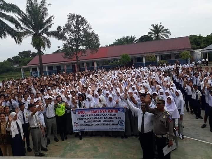 Sosialisasi dari Polres Kota Binjai di Yaspend PABA Binjai