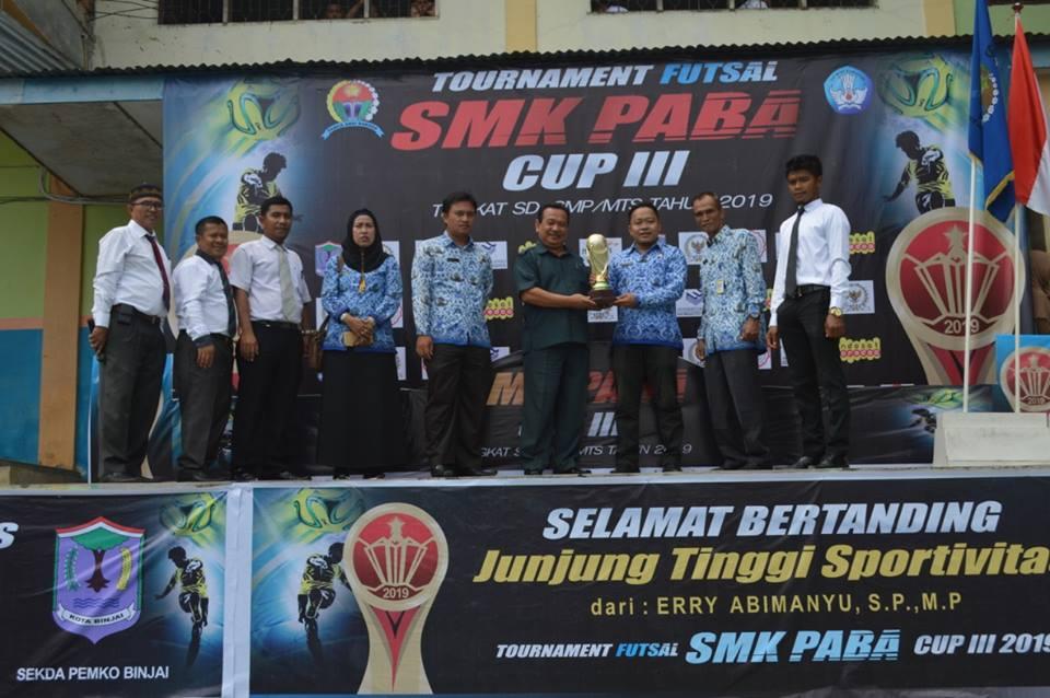Turnamen Futsal SMK PABA Cup tahun 2019
