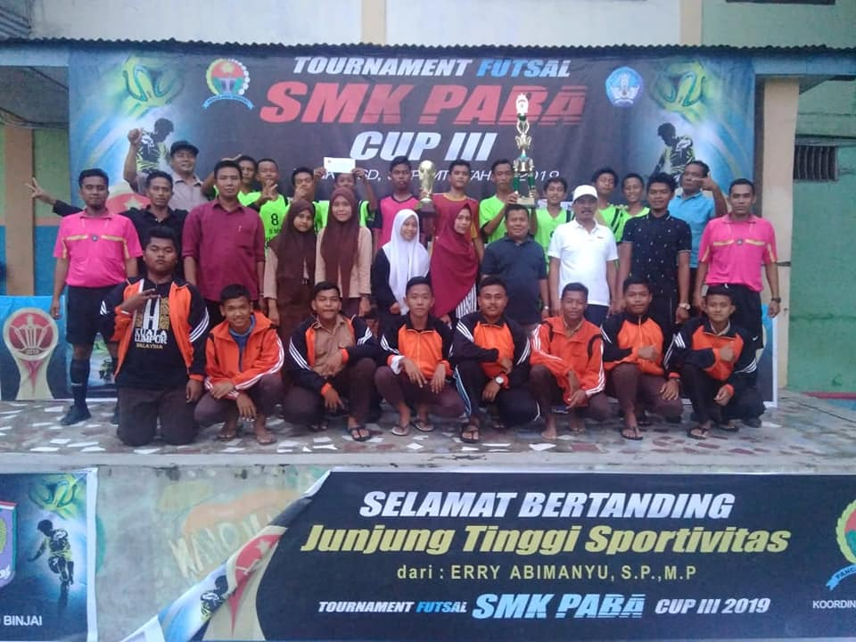 Penutupan Tournament Futsal SMK PABA CUP III