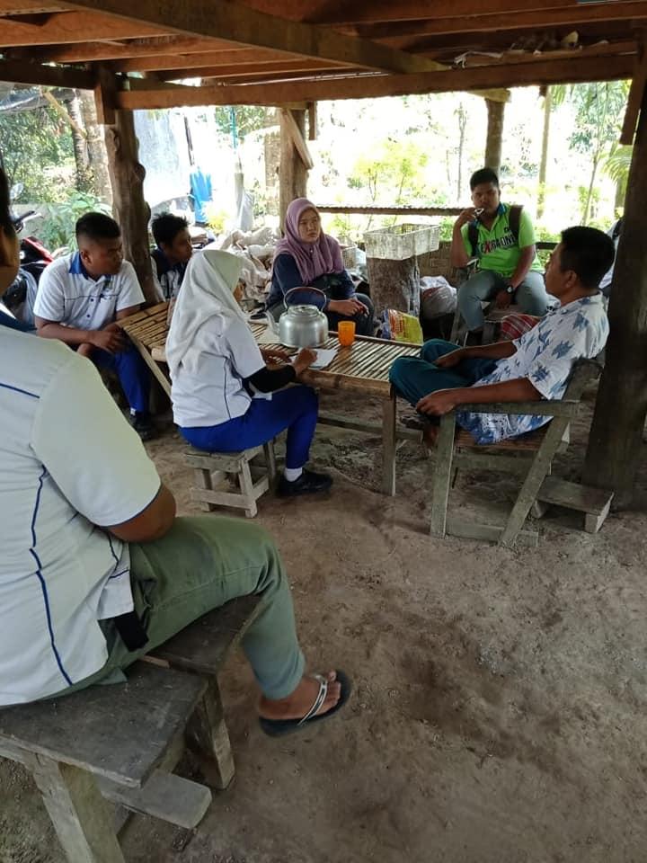 SMK Pertanian belajar di luar kelas