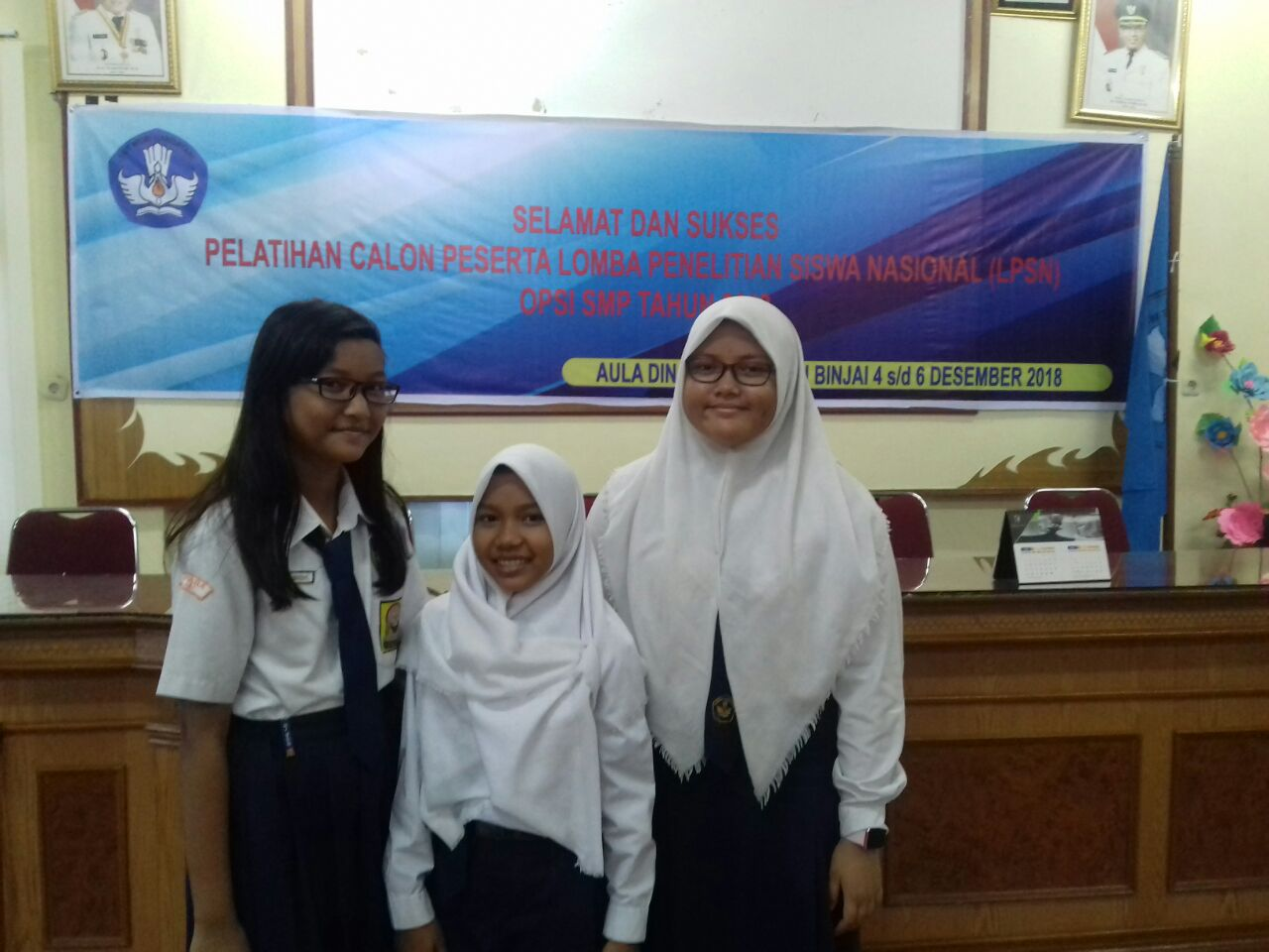 Siswi SMP PABA Binjai Mengikuti Pelatihan