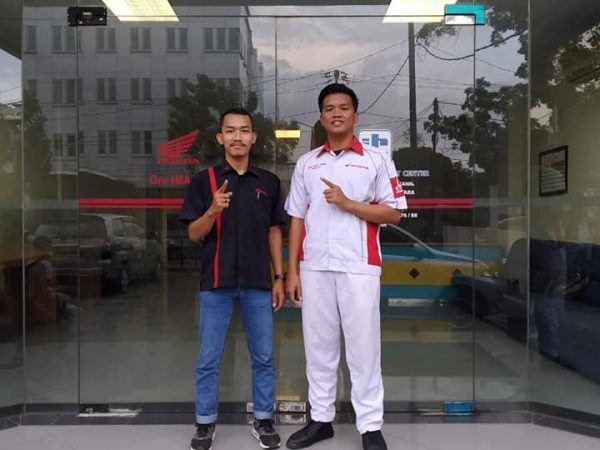 SMK PABA mengikuti Honda Technical Contest
