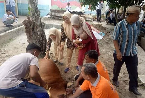 Suasana Kurban di Yaspend PABA Binjai